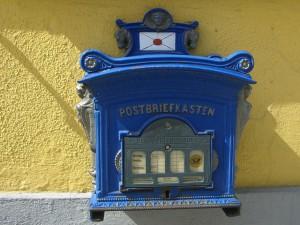 Nostalgischer Briefkasten