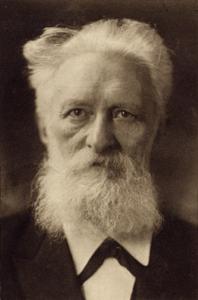 Rudolf Eucken im Alter