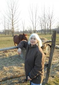 Foto von Andrea Klier mit Pferd