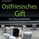 Cover des Friesenkrimis Ostfriesisches Gift von Ele Wolff