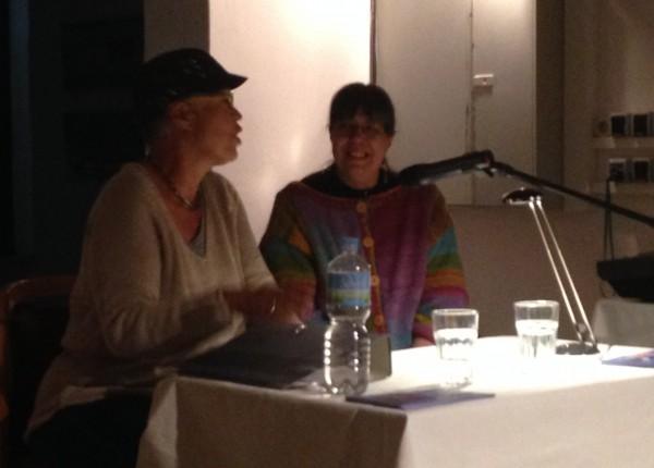 Die Autorinnen bei der gemeinsamen Fragerunde