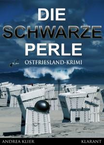 """Cover des Ostfrieslandkrimis """"Die schwarze Perle"""" von Andrea Klier"""