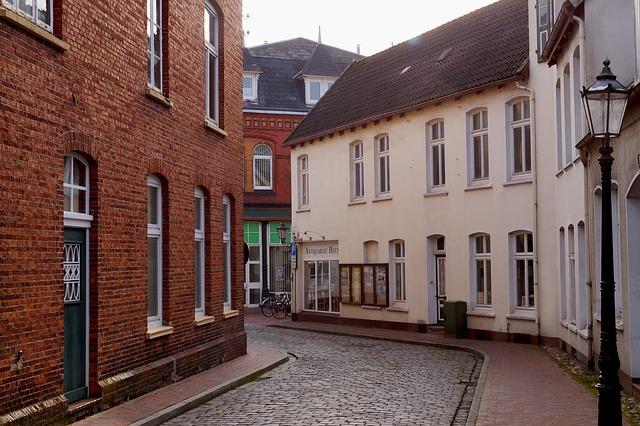 Enge Gassen in der Leeraner Altstadt
