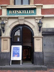 Ratskeller Leer - Location für Friesenkrimi Lesung