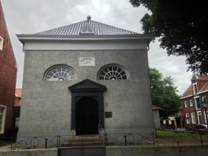 Die Mennonitenkirche Leer