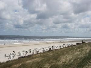 Strand in Spiekeroog