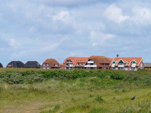Baltrum Häuser