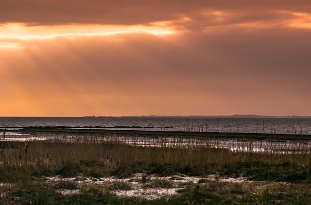 Sonnenuntergang in Spiekeroog