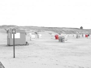 Strand der Nordseeinsel Juist