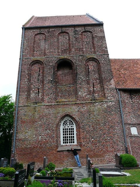 Der Schiefe Turm von Suurhusen