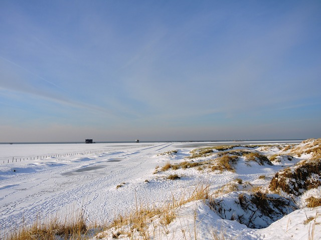 Nordsee Winterlandschaft Pixabay CC0
