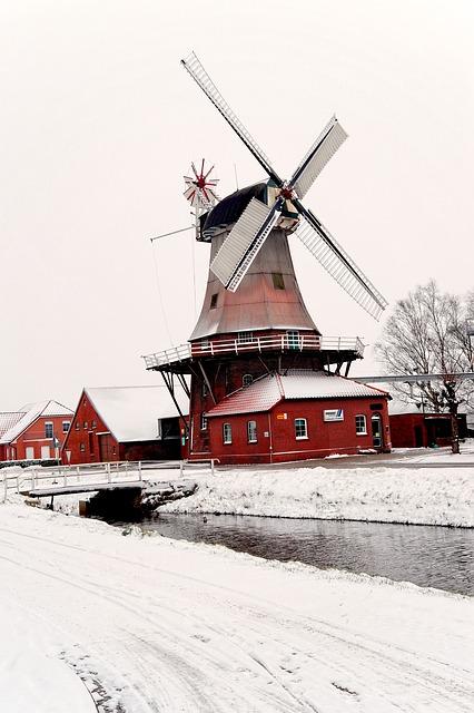Ostfriesland Schnee Pixabay CC0