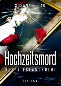 Cover des Ostfrieslandkrimis Hochzeitsmord von Susanne Ptak