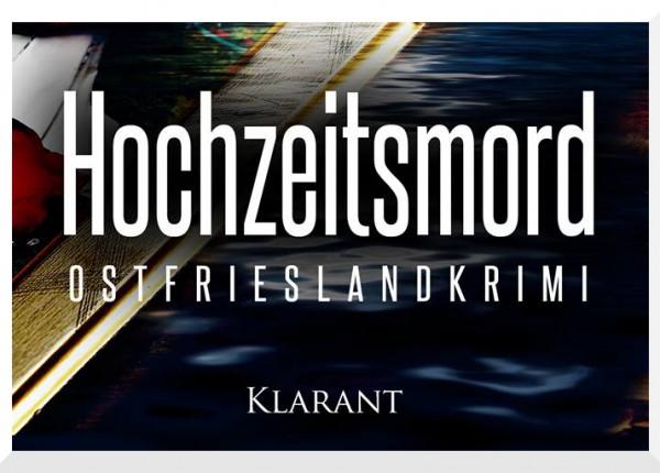 Cover des Friesenkrimis Hochzeitsmord von Susanne Ptak