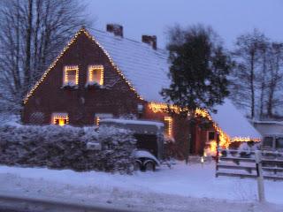 Ein Haus in Ostfriesland