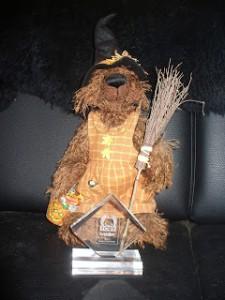 Ein Teddybär von Friesenkrimi Autorin Susanne Ptak