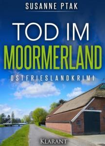 Cover Ostfriesenkrimi Mord im Moormerland von Susanne Ptak