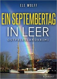 Cover des Ostfriesenkrimis Ein Septembertag in Leer von Ele Wolff