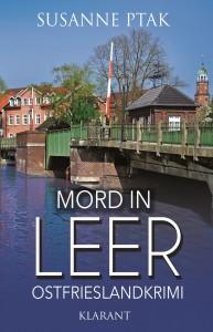Cover Ostfriesenkrimi Mord in Leer von Susanne Ptak