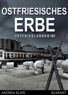 Cover Ostfriesenkrimi Ostfriesisches Erbe von Andrea Klier