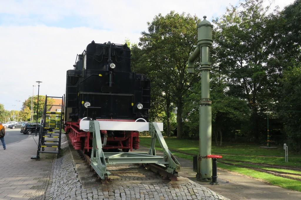 Alte DB Lok Emden