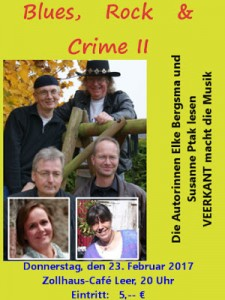 Blues Rock and Crime II Flyer