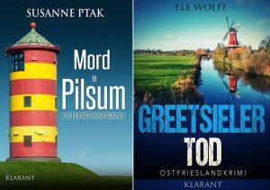 Susanne Ptak - Ele Wolff - Lesung Greetsiel