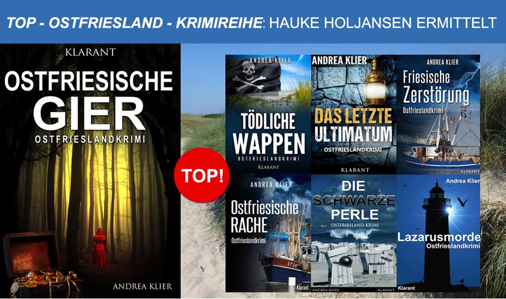 "Ostfriesland - Krimireihe Hauke ""Hauke Holjansen ermittelt"""