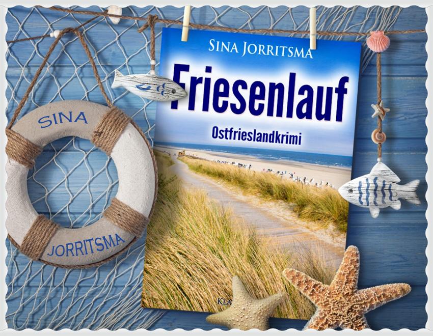 """Ostfrieslandkrimi """"Friesenlauf"""" von Sina Jorritsma"""