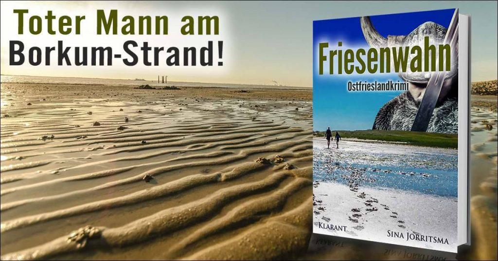 """Banner Ostfrieslandkrimi """"Friesenwahn"""""""