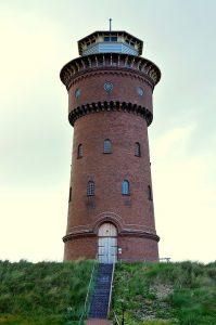 Der Borkumeer Wasserturm - Quelle: Pixabay