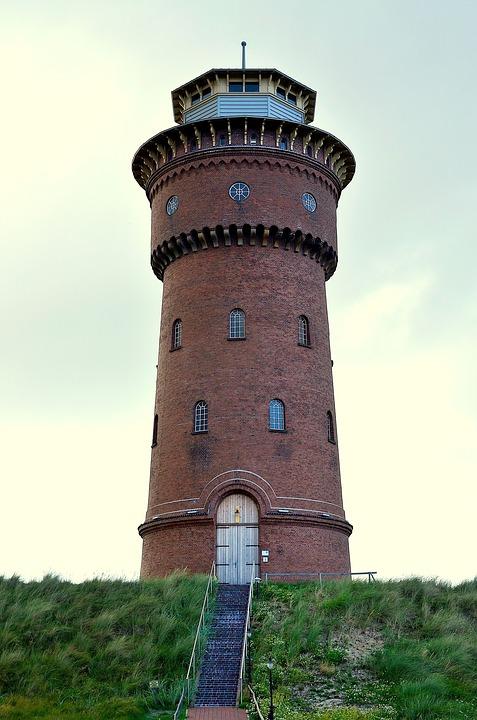 Der Borkumer Wasserturm - Quelle: Pixabay