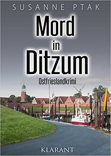 """Cover Ostfriesenkrimi """"Mord in Ditzum"""""""