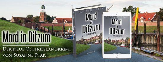 "Banner ""Mord in Ditzum"""