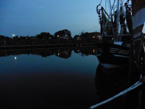 Greetsiel Hafen Abend