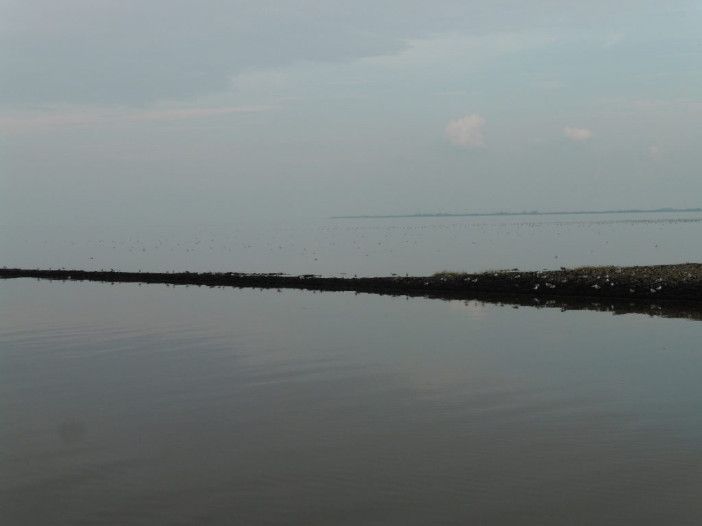 Nordsee hinter Schleuse