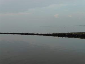 Nordsee hinter Schleuse