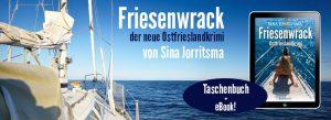Banner Ostfrieslandkrimi Friesenwrack