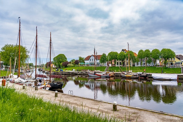 Carolinensiel Hafen