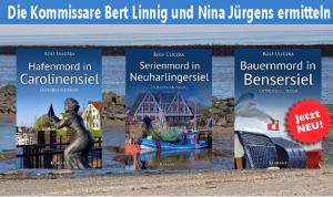 Ostfrieslandkrimi Reihe Rolf Uliczka