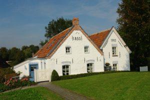 Häuser mit Jahreszahlen Greetsiel