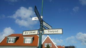 Straßennamen Spiekeroog