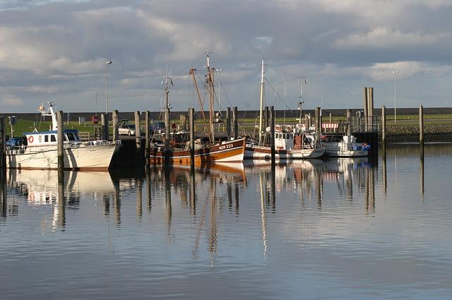 Fischerboote Norddeich