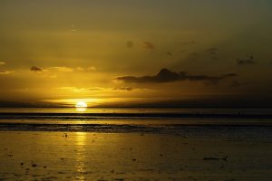 Norddeich Sonnenuntergang