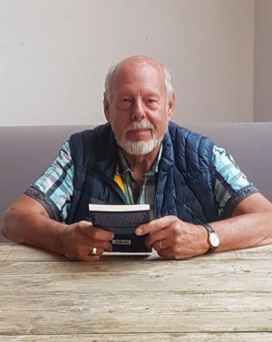 Rolf Uliczka bei Lesung am 19.07.2018 in Caro - Gulfhof Friedrichsgroden