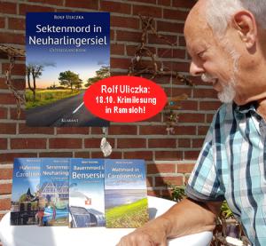 Ostfrieslandkrimi Lesung Rolf Uliczka