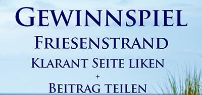 Gewinnspiel Taschenbuch Friesenstrand