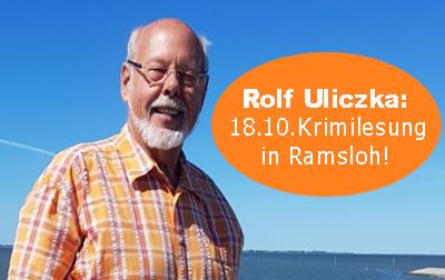 Ostfrieslandkrimi - Lesung mit Rolf Uliczka