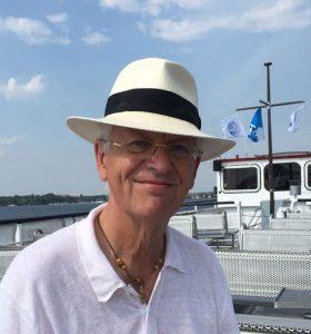 Ostfriesenkrimi Autor Nick Stein auf der Fähre