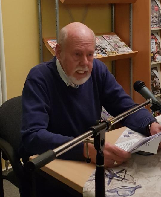Lesung: Rolf Uliczka liest aus Serienmord in Neuharlingersiel